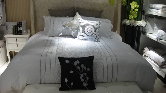 cotton fabric pleat fashion 4pc bedding set