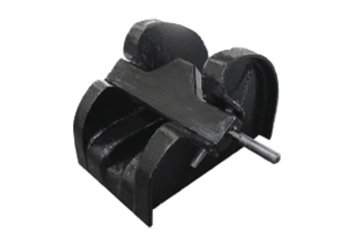 Casting bar type chain stopper