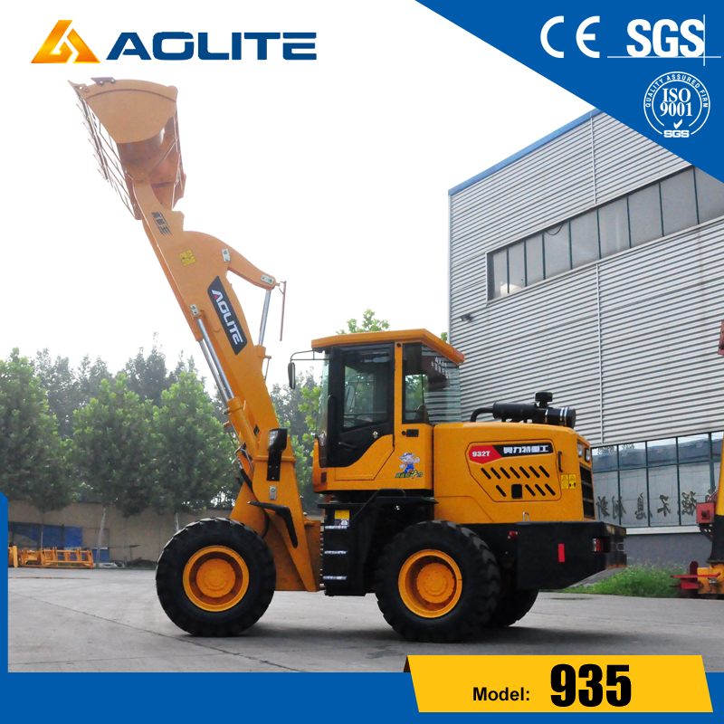 China Construction Machinery Small hydraulic payloader with low prices for sale