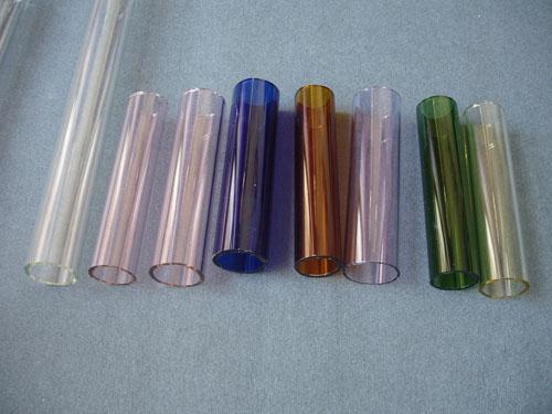 Borosilicate glass tube and rods