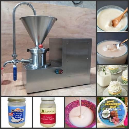 coconut butter machine
