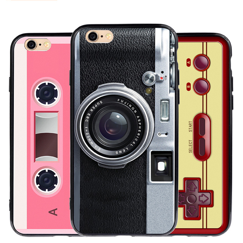 hot selling TPU phone case camera phone cover for iphone 6
