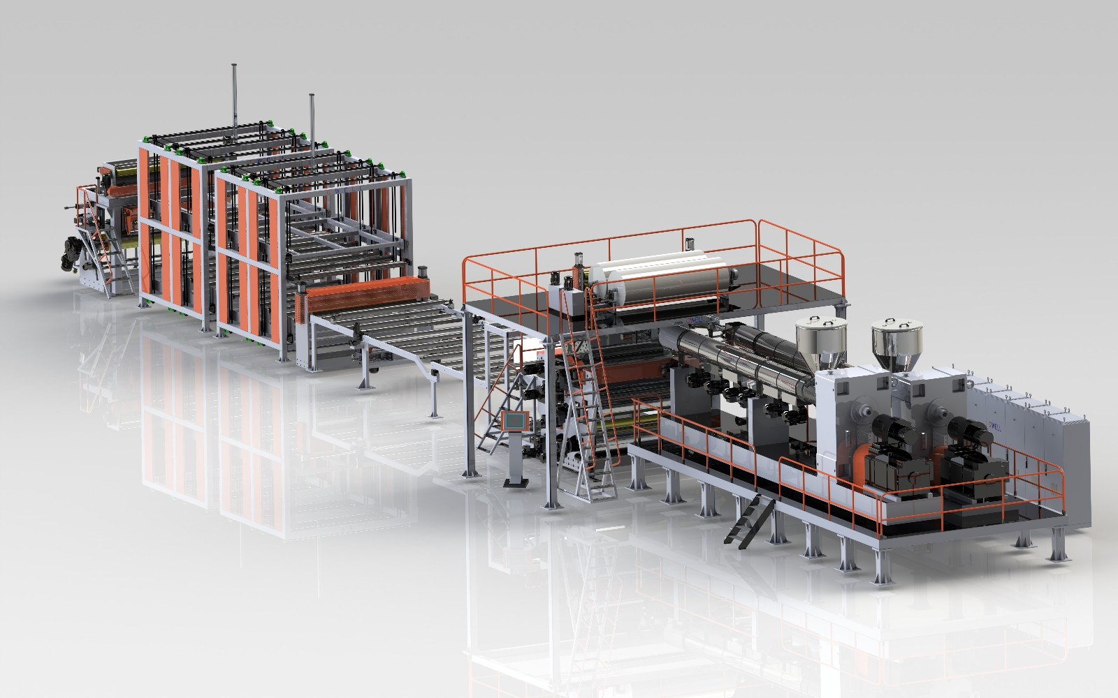 TPO Waterproof Extrusion Line
