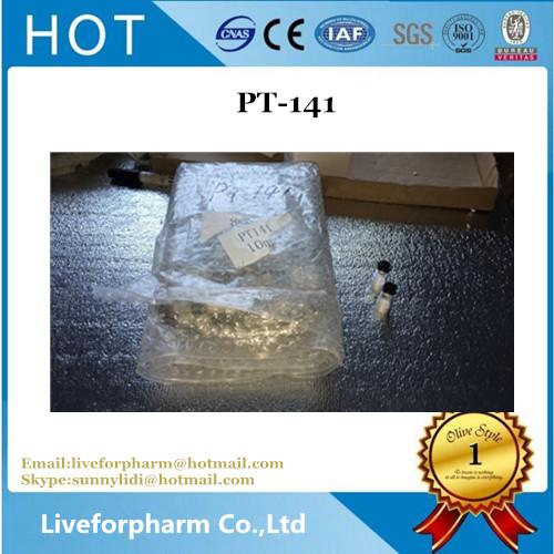 Buy Pure Bremelanotide Peptides PT-141 For Bodybuilding CAS 189691-06-3
