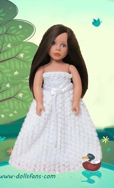 doll party dress fits 18 inch doll