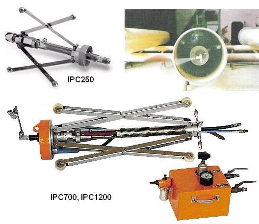 Pipe coating tools