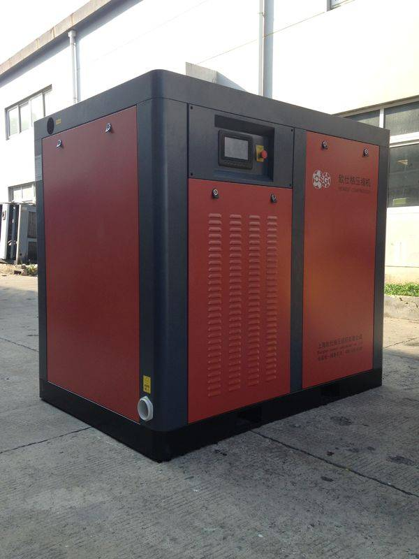 High Performance 2 Stage Air Compressor DN65 Outlet Diameter