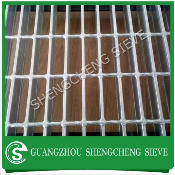 Hot dipped galvanized steel grating standard weight industrial welded grating