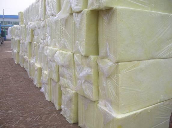 Glass wool insulation board