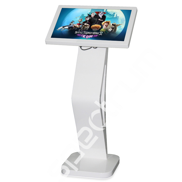 21.5inch floor standing LCD information touch kiosk