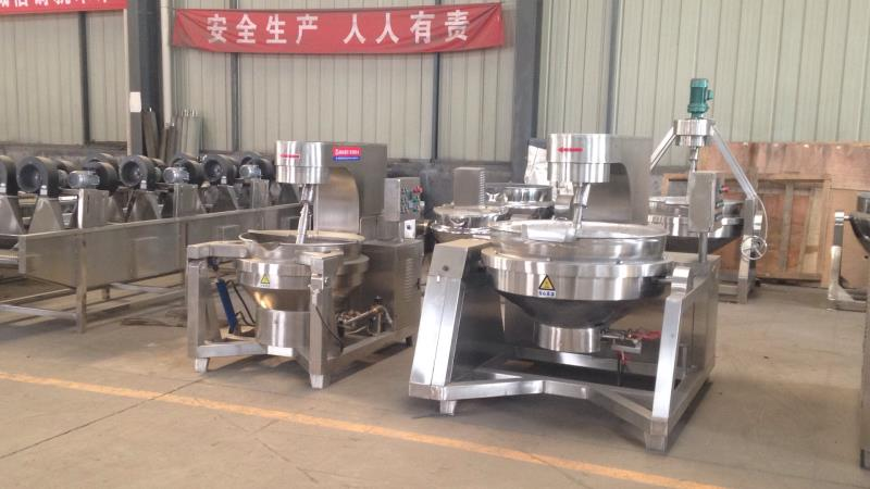 The full/semi-automatic stirring cooking jacked kettle/Pet food processing/dog food/fish food/cat fo