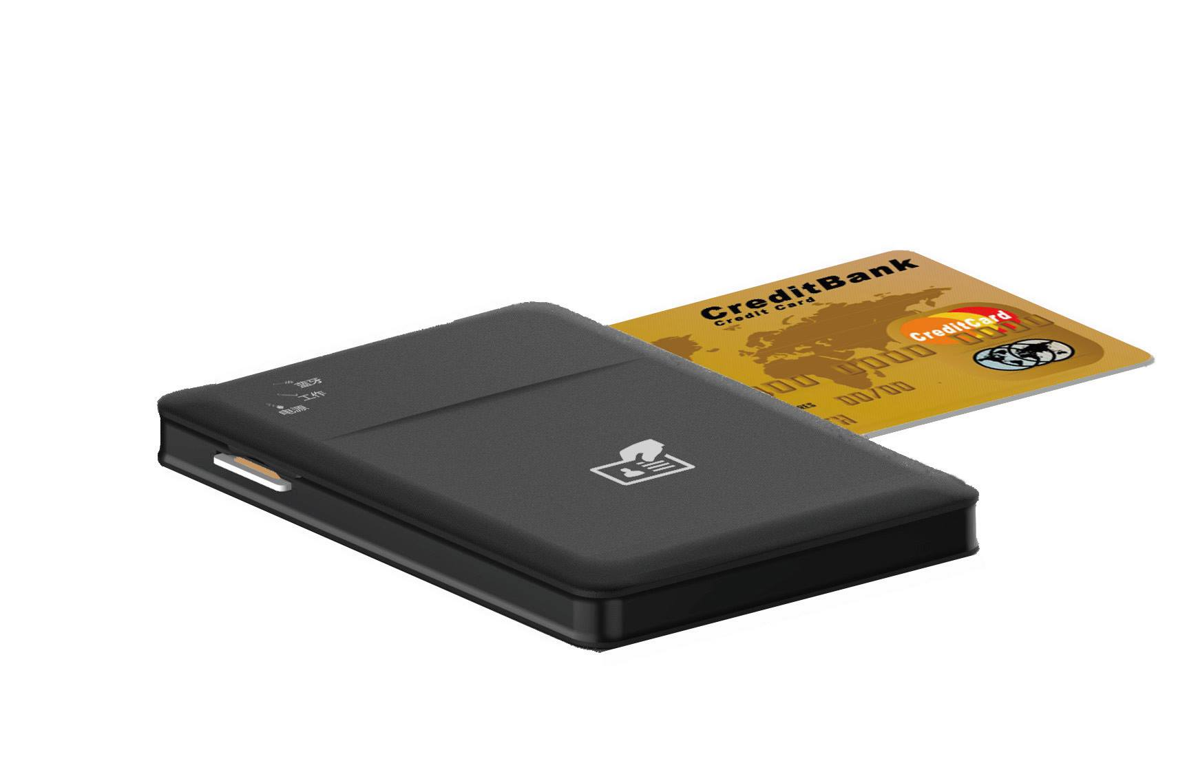 Contact and Contactless Bluetooth smart card reader