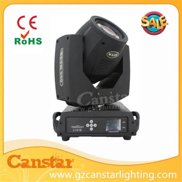 Touch screen beam moving head light 200w 230w