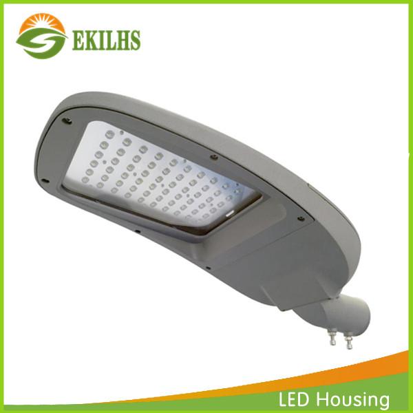 100W Aluminum Die Cast LED Street Light Empty Housing