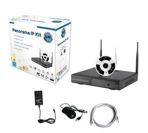 Most cost-effective wireless fisheye camera cctv system