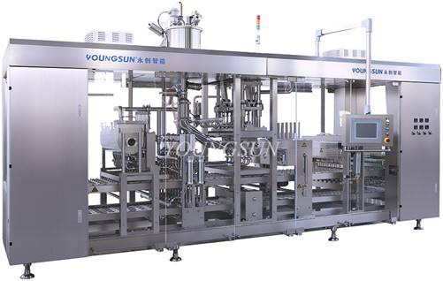 YSZB- 20000 Automatic Plastic(Paper) Cup Filling and Sealing Machine