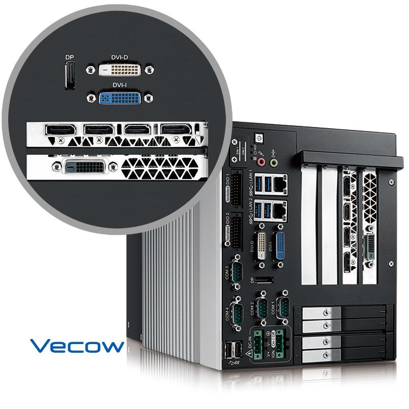 RCS-9400FR GTX1080, Workstation-grade 7th Generation Intel Xeon/Core trade; i7 GPU Computing System