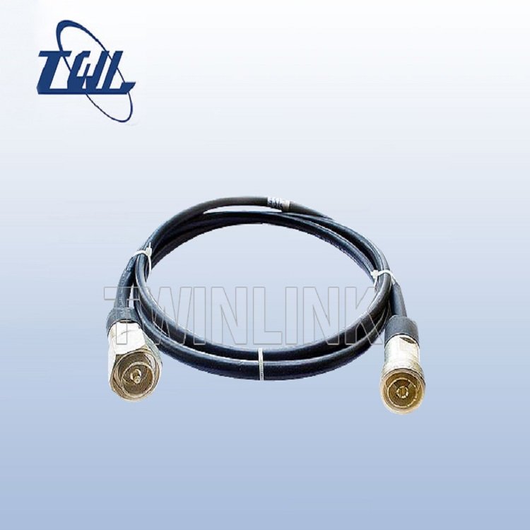 4.3-10mini din male connector with k1/2'' jumper cable assembly