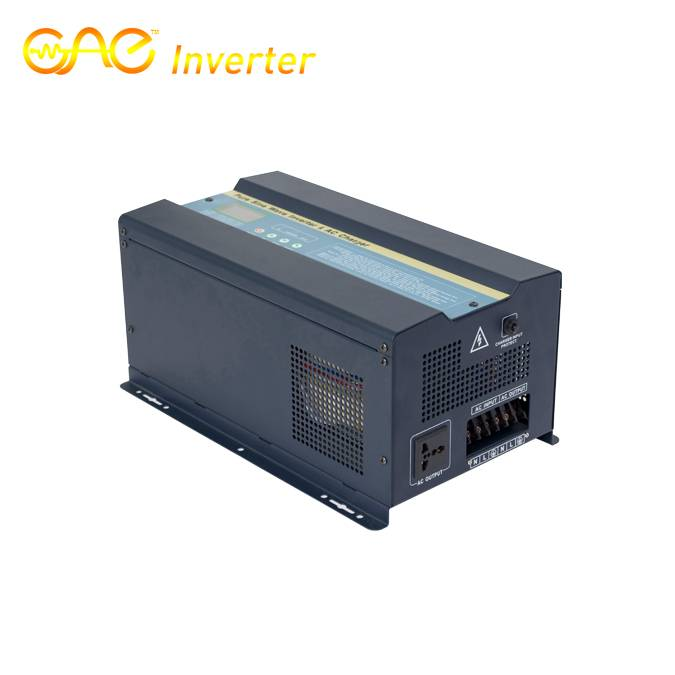 12V 2000WLow Frequency Pure Sine Wave Inverter with AC charger