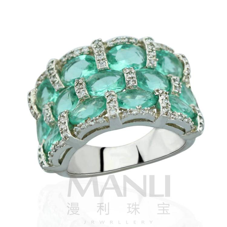 2015 Manli Fashion unisex egg-shaped retro all-match Ring