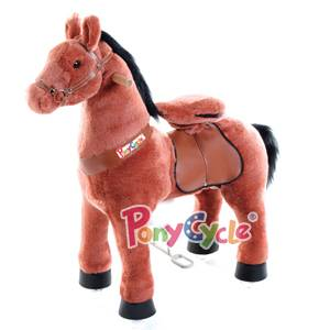 PonyCycle  Mechanical Rocking Horse Toy, Ride on Bounce up and Down and Move, 44'' for Children 4 to