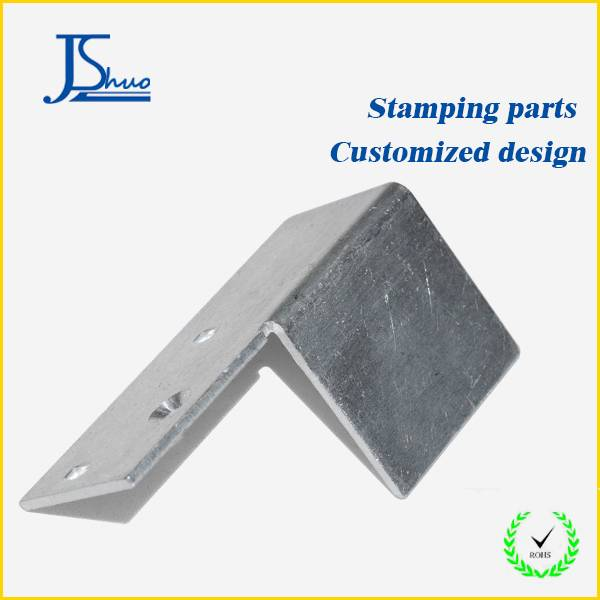 Galvanized stamping die material