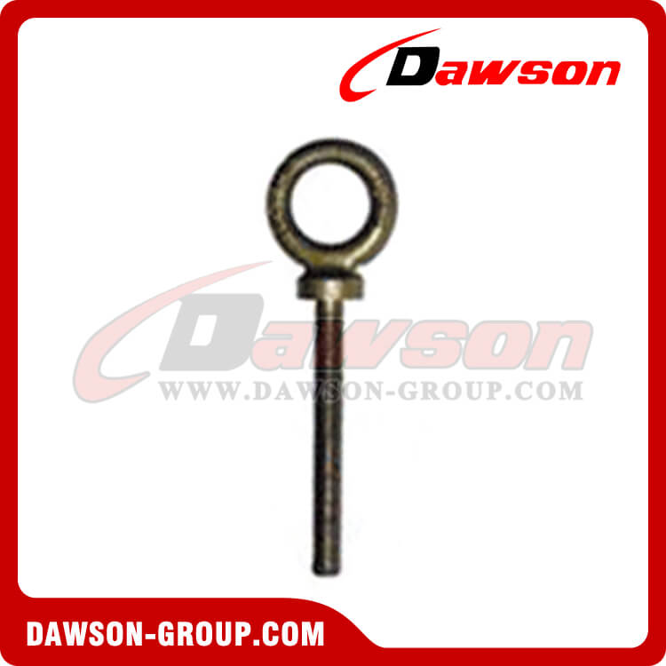 Dawon China supplier forged long shank dynamo eye bolts