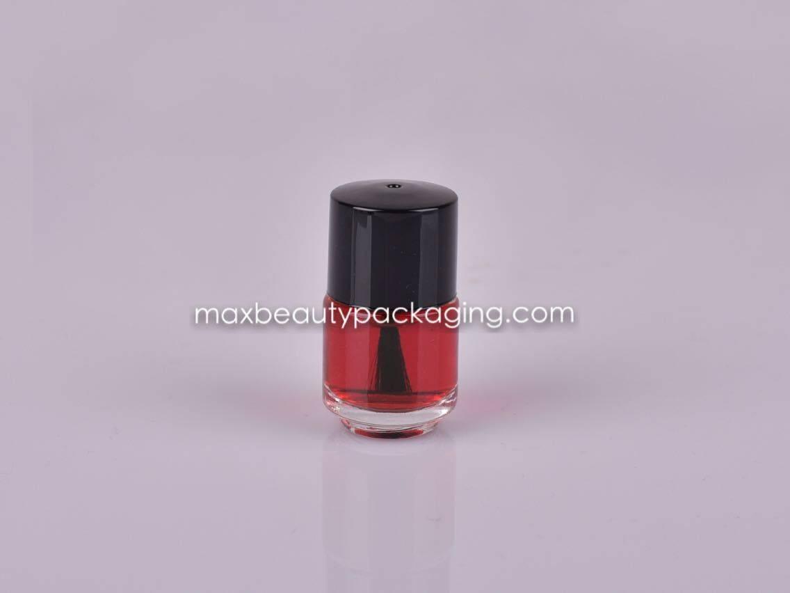 NP004 Nail Polish packaging nail polish cap nail polish bottle brush 7ml round bottle