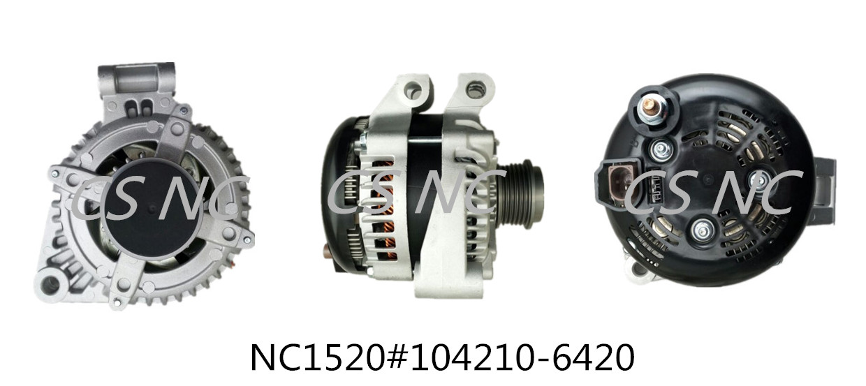 Denso Alternators NC1520 ( 12V 210A 104210-6420
