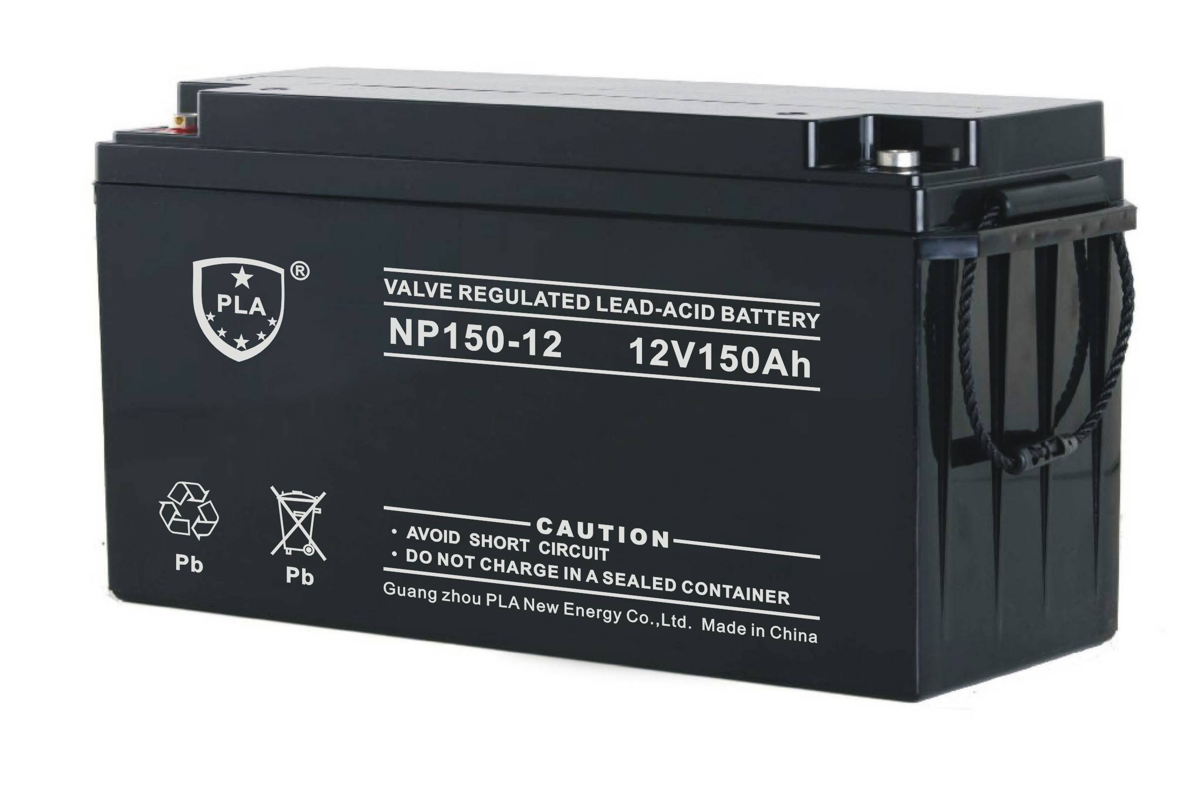 12V150Ah Rechargeable Lead Acid Solar Battery for UPS