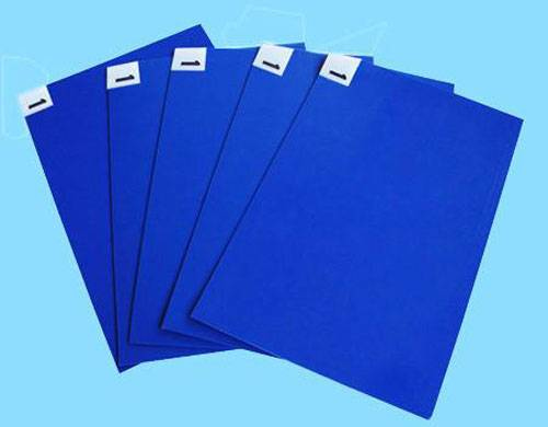 blue disposable sticky mat  PE film for hospital