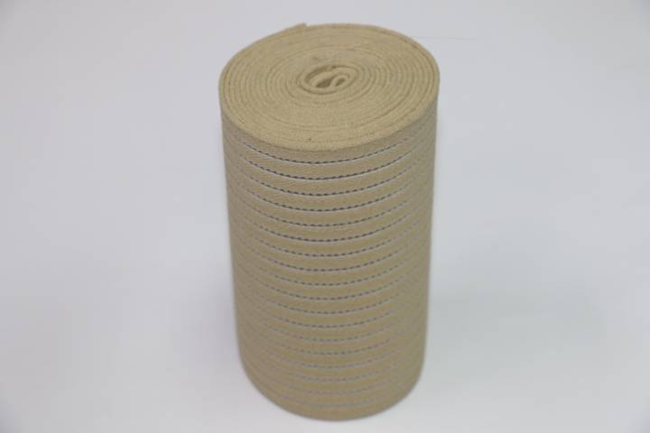 High quality knitted elastic webbing waist belt sports supports padding