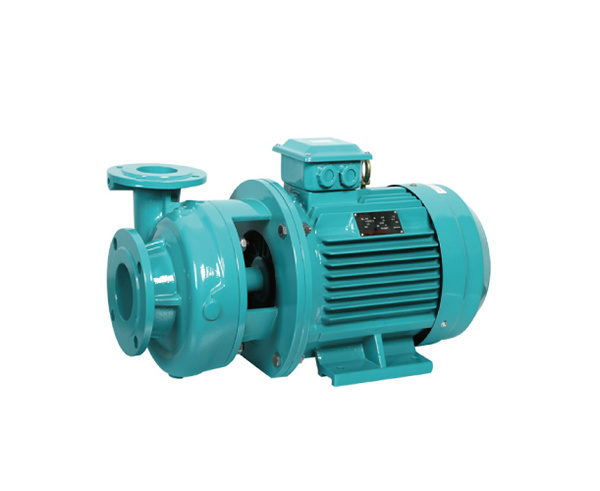Direct-coupled centrifugal water pump