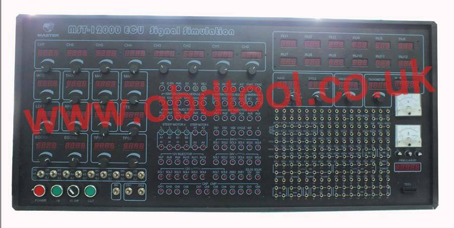 MST-12000 Universal Automotive Test Platform and ECU Signal Simulation 1220EUR