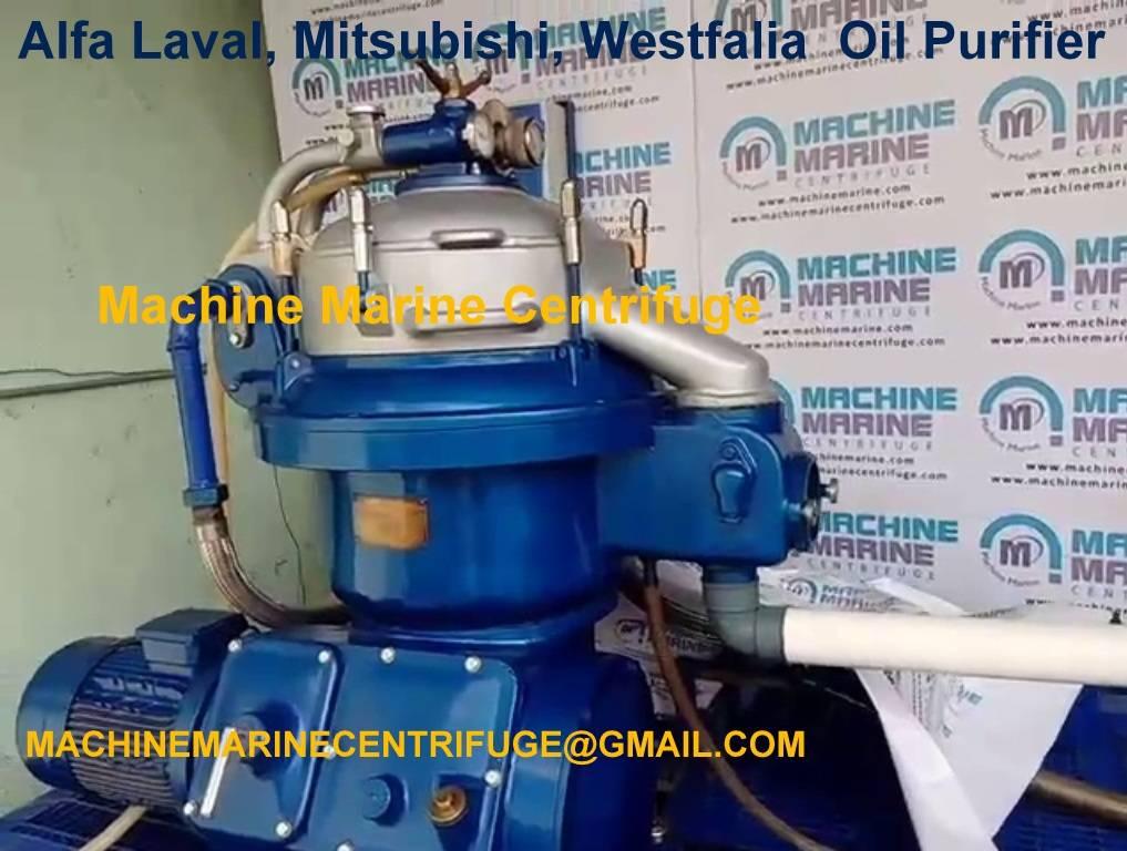Waste Oil Centrifugal Separator, Waste Oil Purifier, Machine Marine Centrifuge,