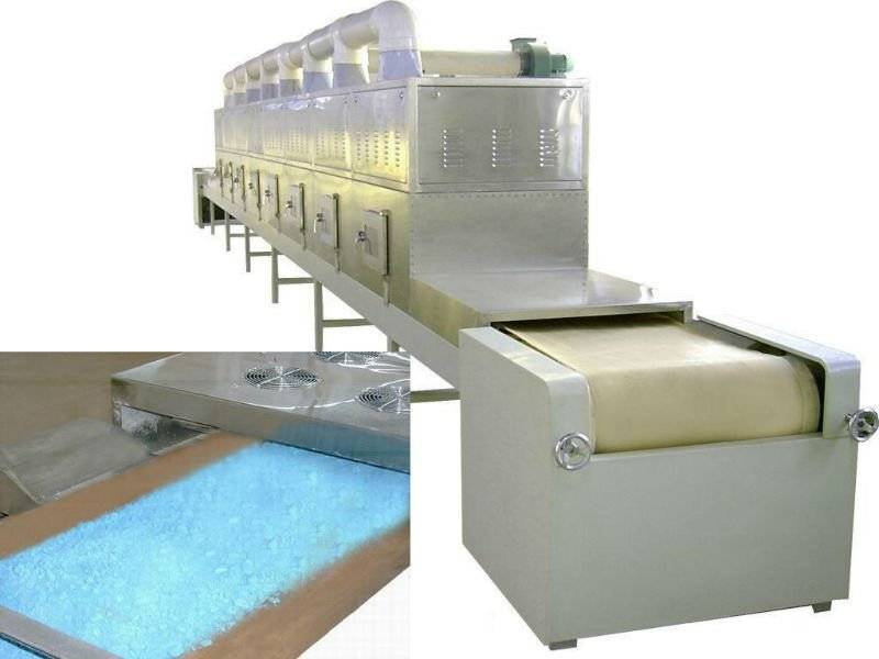 automatic industrial microwave copper powder dryer