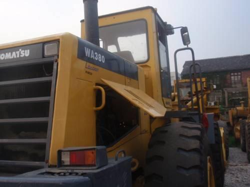 used loader komatsu WA380