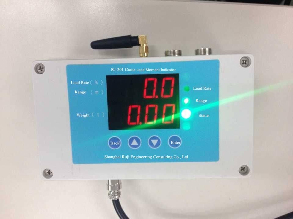 Crane Load Moment Indicator LMI System