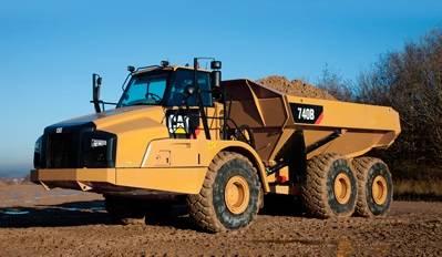 new unused CAT dump 740B i150001 EIJH ad40121