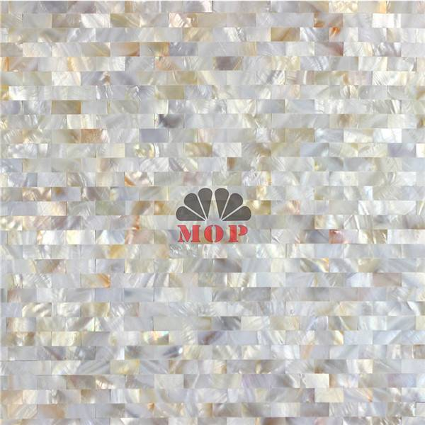 customized wall panel mother of pearl tile