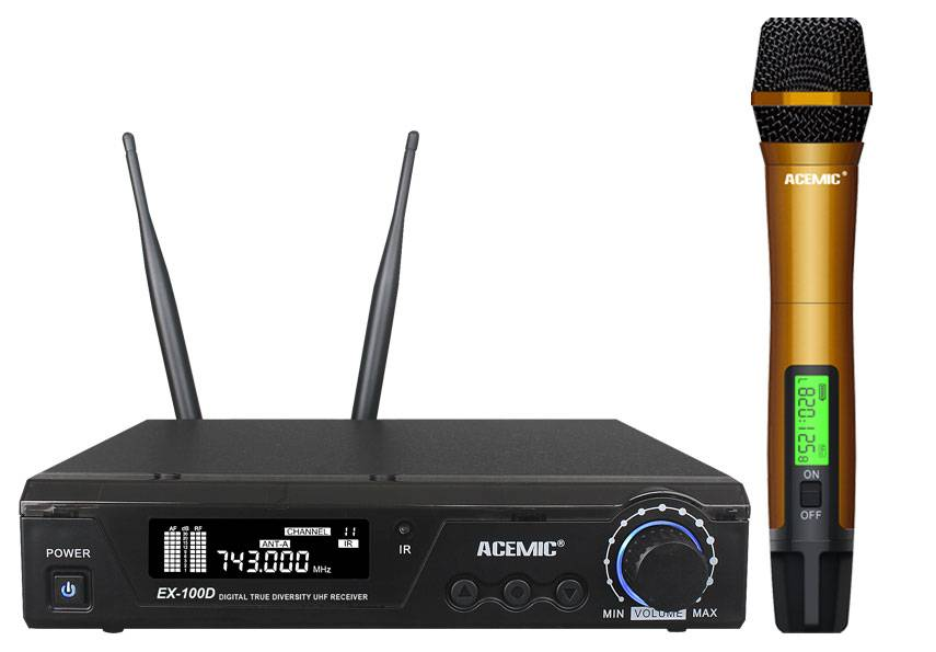 ACEMIC Wireless Microphone EX-100D