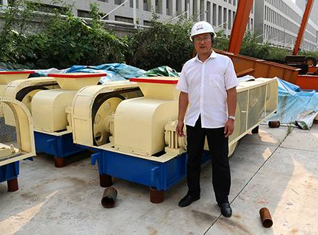 Toothed Roll Crusher/Double Roll Crusher For Hard Stone