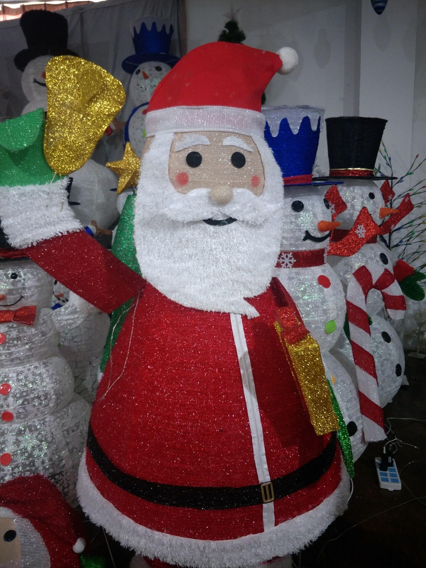 2019 new design Christmas snowman decoration