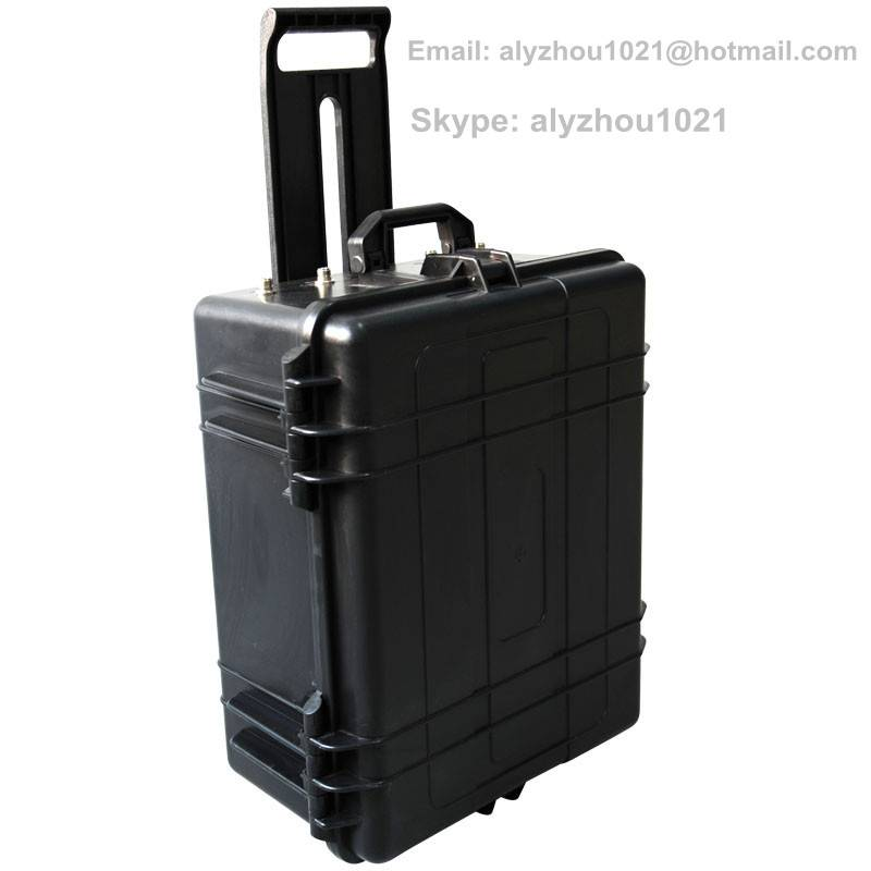 20-3000MHz 530W high power man-pack VVIP digital portable jammer