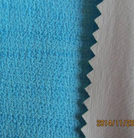 Double layer Imitation linen fabric+TPU