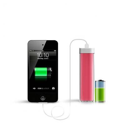 New design colorful promotional lipstick portable power bank for mobile phone