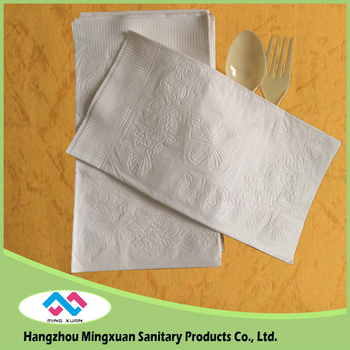 36 x 42cm Embossed Dinner Paper Napkins