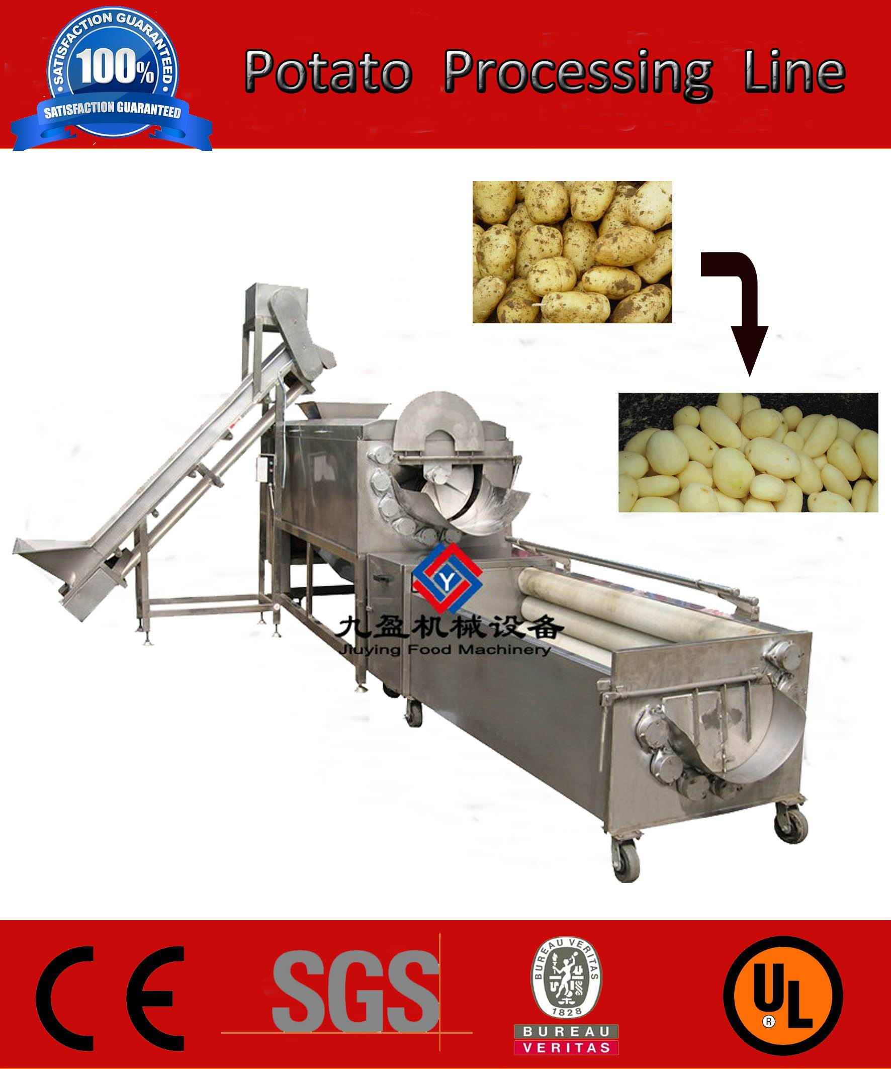 potato processing machinery,potato processing plant,potato production line
