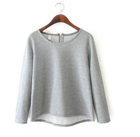 The european new style tops for women 2016 with bulk blank t-shirts cotton knitted fabric