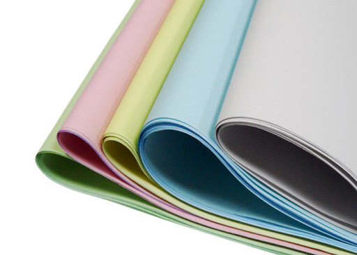 Good Price High Quality Image Blue/ Black 55/ 50/ 55GSM Carbonless Paper/ NCR